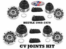 C.V JOINT KIT TYPE1 , K.GHIA AND TYPE3 SET OF 4  KITS INCLUDE C.V JOINT,BOOTS