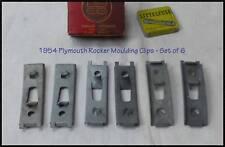 NOS 1954 Plymouth Rocker Molding Clips Lot Belvedere Convertible Dodge Mopar