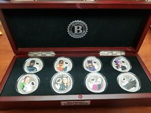 BATMAN Classic TV Series Proof Coin Collection set With Display Catwoman