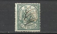 497- CLASICO FISCAL  COLONIA DE ESPAÑA AÑO 1867.2  ESCUDOS Y  50 CENTIMOS,T