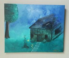 Burnt Offerings, 2000-Now, Artist, Signed, Acrylic, Fantasy, Medium (Up to 30