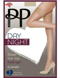 Pretty Polly Day To Night 15 Denier Hold Ups- 2 Pack