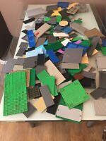 Lego 3.32kg of BASE PLATES Bundle Job Lot 16 x 16, & many others