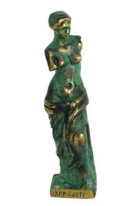 Venus de Milo small Bronze Statue - Aphrodite Goddess Of Love - Louvre Museum