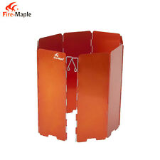 Fire-Maple FMW-508 8Pcs Outdoor Camping Picnic Wind Orange Deflector Wind Board