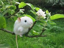 """Kösener Maus """"Pieps"""", weiß, Kösen #5561, Kuscheltier, Stofftier - soooo niedlich"""