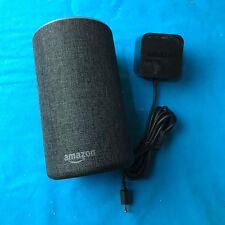 Amazon Echo (2nd Generation) Smart Speaker With Alexa -Charcoal Fabric ✔Ship ASA
