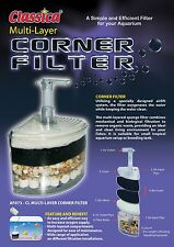 CLASSICA AQUARIUM MULTI-LAYER CORNER FILTER