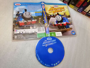 THOMAS & FRIENDS : THE ADVENTURE BEGINS - 2015 ABC For Kids DVD Issue - Region 4