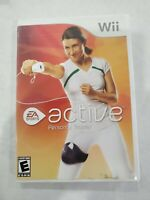 EA Sports Active: Personal Trainer (Nintendo Wii, 2009) Game With Case