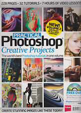 PRACTICAL PHOTOSHOP CREATIVE PROJECTS IN ONE VOLUME MAGAZINE 2013, W/FREE CD.