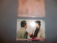 ROGER MOORE TONY CURTIS THE PERSUADERS PRINTERS PLATE FRONT AND BACK CARD 9