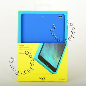 Logitech BLOK Protective Shell Case Cover iPad Mini 2 iPad Mini 3 Teal/Blue New