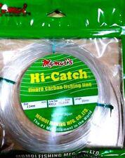 Momoi Hi-Catch Fluorocarbon leader 20m 400lb game leader line rigs marlin tuna