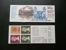 Fb41 Mcc Bicentenary Cricket Lords Pavillion 50P Machin Stamp Booklet Umfb42c