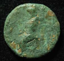 Ancient Greek AE25 Tarsus, Cilicia, Zeus / Tyche, after 164BC