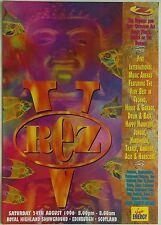 Rezerection ~ Rez V @ Royal Highland Showground, 24/08/96 Rave Flyers