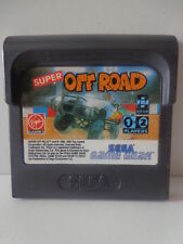 GAME GEAR Gioco-SUPER OFF ROAD (modulo)