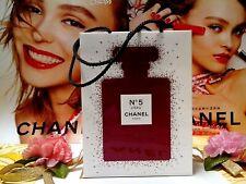 CHANEL Mini-Size☾L:14.5 x W:4.5 x H:11 cm☽ N°5 Paper Gift Bag✰☾Limited Edition☽✰
