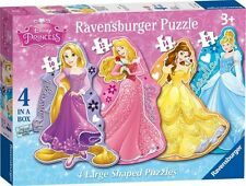 Disney & Ravensburger 4 In A Box Jigsaw Puzzle Toy Games Brand New Gift