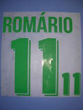 Brasil Brasile kit ROMARIO flock velluto Nameset maglia calcio umbro