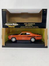 1:18 ERTL American Muscle 1971 Dodge Demon Orange 37077