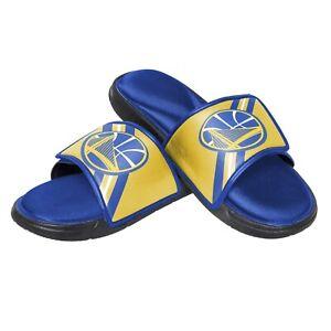 Golden State Warriors NBA Men's Foam Sport Slide On Sandal FREE SHIP!