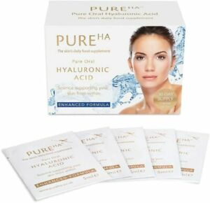 PureHA Pure Oral Hyaluronic Acid 30 Days Supply,