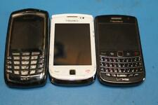 LOT OF 3 USED CELL PHONES ~ BLACKBERRY 9650 BOLD VERIZON, 9800 TORCH AT&T/SPRINT