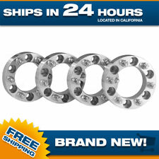 6x120 to 6x5.5 Wheel Adapters Spacers 14x1.5 studs Chevy GMC 1.5 inch thick 4