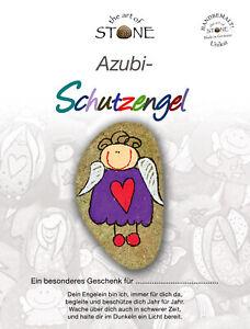 Azubi Schutzengel - Unikat handbemalter Glücksbringer
