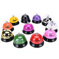Desk Kitchen Counter Reception Eatting Bell Ring for Service Pet trainingFFB