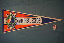 1990's Montreal Expos MLB Wincraft Variant Felt Pennant