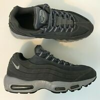 Nike Air Max 95 Premium Sneakers Men Size 9.5 Wolf/Grey Fast Shipping