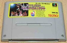 Super Famicom:  Tecmo Super Nba Basketball