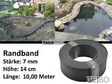 Teichwerk Profilband 14cm - 10,00m | Randband Teichband Teichrandband Teich