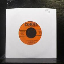 "Lawrence Welk - Luxembourg Polka 7"" VG+ Vinyl 45 Coral 9-61240 USA"
