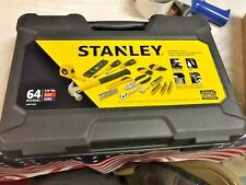 STANLEY 64 PC TOOL KIT IN CASE NEW IN CASE