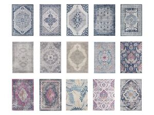 VINTAGE RUGS - Large & Small for Living Room & Bedroom Area Rugs in Multicolour