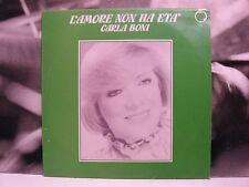 CARLA BONI - L'AMORE NON HA ETA' LP VG+/EX- 1982 INTENSITY LTY 035