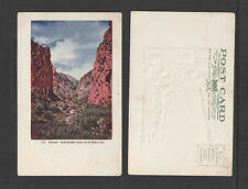 190x GATEWAY SOUTH BOULDER CANON ON THE MOFFAT LINE UDB UNDIVIDED BACK POSTCARD