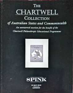 Auction Catalogue CHARTWELL AUSTRALIAN STATES and COMMONWEALTH Kangaroos etc.