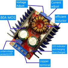 CC CV Buck Boost Converter 80W Booster DC DC Step Down Step Up Adapter Adjustabl