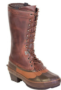"""Kenetrek Men's Cowboy 13"""" Tall Size 13 Insulated Leather Uppers Boots"""