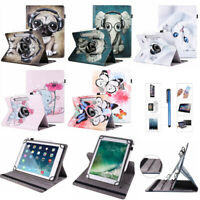 """360° Flip Universal Leather Case Cover For 9.6"""" 10"""" 10.1"""" 10.5 Android Tablet PC"""
