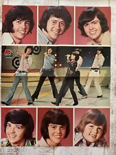 "Double Sided! Osmond Brothers & Jackson 5 Poster from 16 magazine 16"" by 20 """