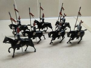 Britains Vintage Lead toy soldiers. Horse Guards. Blues and Royals