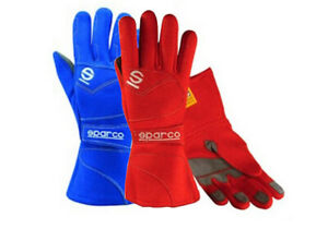 FIA Sparco Flash 2 Racing Rally Gloves XXS XS Fire Resistant 00139F2 STOCK 21