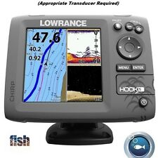 Lowrance HOOK-5 Fishfinder/Chartplotter With CHIRP Sonar And DownScan Imaging™