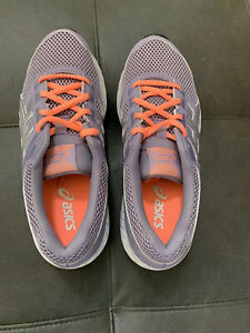 NWOT asics Contend 5 Running Shoes 7 | Purple + Silver | Never Worn, Orig $65!